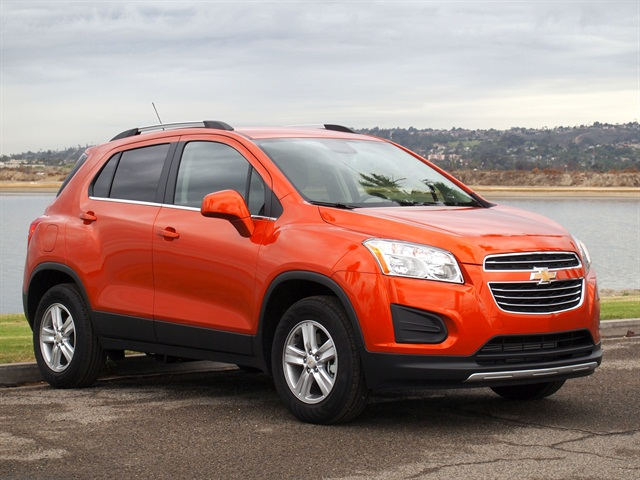 Chevy Small Suv >> 2015 Chevrolet Trax Driving Notes Automotive Fleet