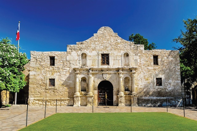 The conference is a short walk from many landmarks, including the Alamo. Photo: visitsanantonio.com, Bob Howen