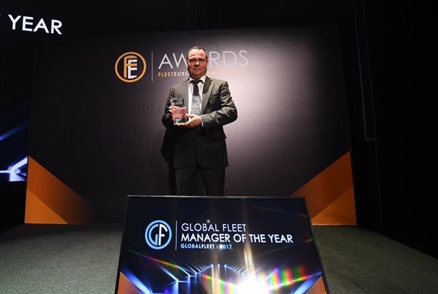 Photo ofJuergen Freitag, head of Global Fleet Management at Siemens AG, courtesy of Fleet Europe.