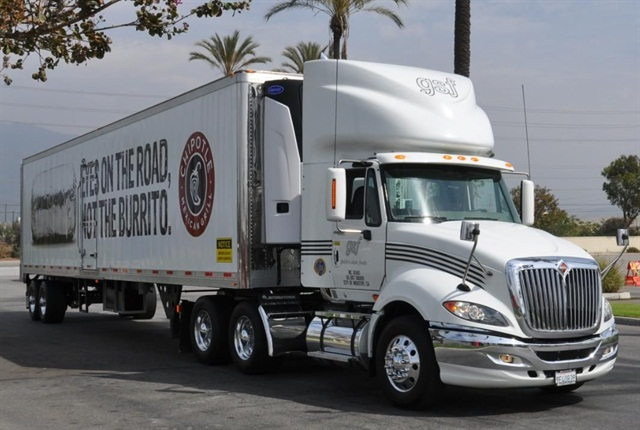 Golden State Foods has a goal of using renewable energy or alternative fuels in 100% of its fleet by 2020.