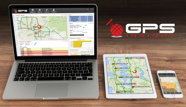 GPS Insight's telematics solutions are designed for government agencies of all sizes and tailored to fit many different types of fleets. Photo courtesy of GPS Insight