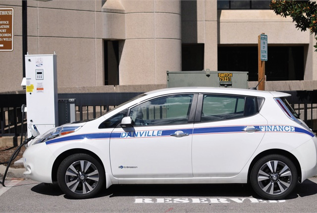 Fermata tested its vehicle-to-x technology by partnering with the City of Danville, Va., for a two-year trial. Photo courtesy of Fermata