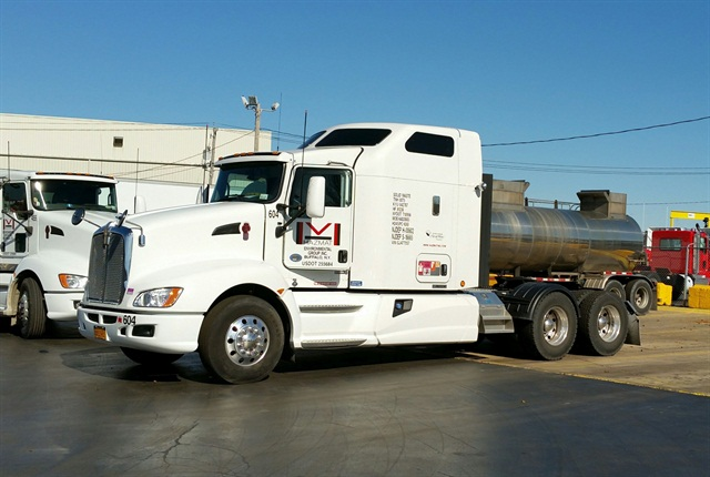 On its most recent purchase of 40 dry van trailers, Hazmat Environmental Group replaced steel plating with Gatorhyde (a spray-on protective bed liner), which saved 2,000 pounds per trailer.