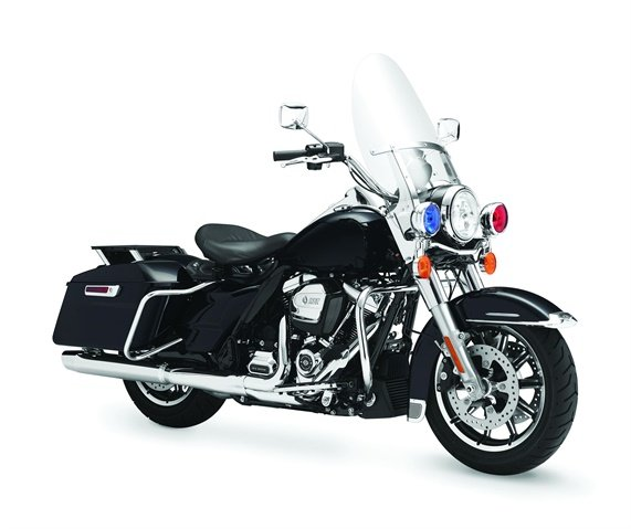 FLHP Road King. Photo courtesy of Harley-Davidson.