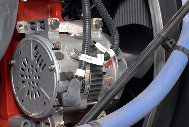 Heat is not an alternator's friend. Engineers spend a great deal of time and money devising better ways to cool alternators.