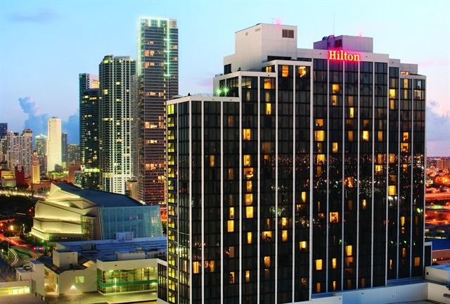 Auto Rental Summit will take place Nov. 6-7 at Miami Hilton Downtown. Photo courtesy of Miami Hilton Downtown.