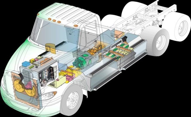 Peterbilt will test the feasibility of TransPower electric powertrains in its trucks. Photo: TransPower
