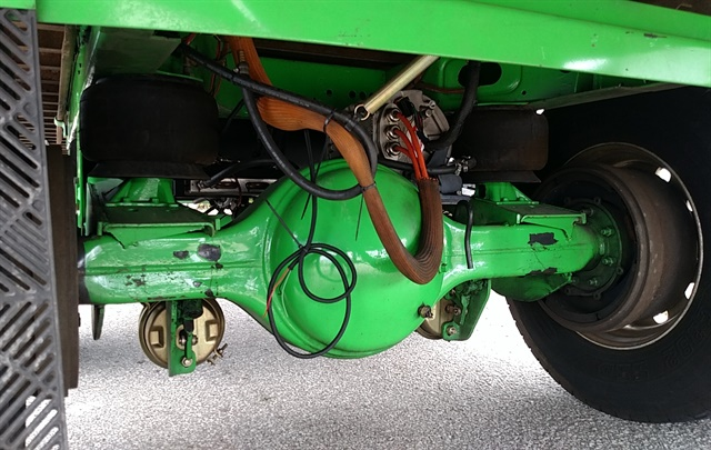 Hyliion Tandem S Rear Axle Is A Truck Type With Diffeial Motor Ahead