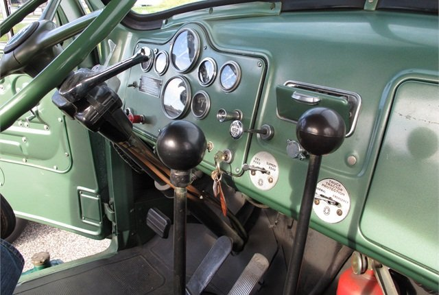 Back before they invented automated manuals with dash displays, driver had to remember which gear they were in.