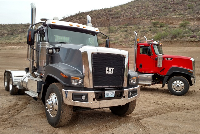 CT680, introduced earlier this year, is the third version in the Cat Truck series. Photo by Tom Berg