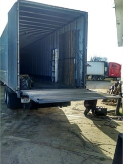Liftgates do not have a place that dock restraints can grab onto, so many safety-minded shippers will not load them. This greatly cuts backhauling opportunities.