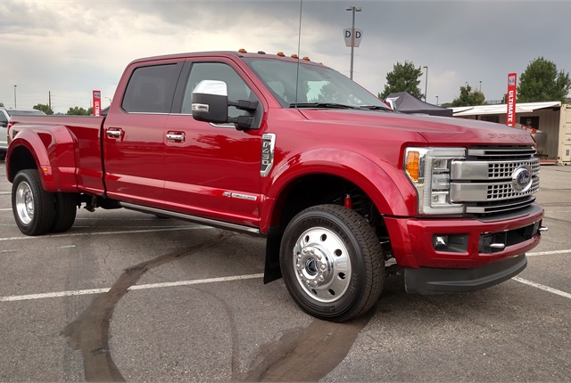 ford super duty vs f150