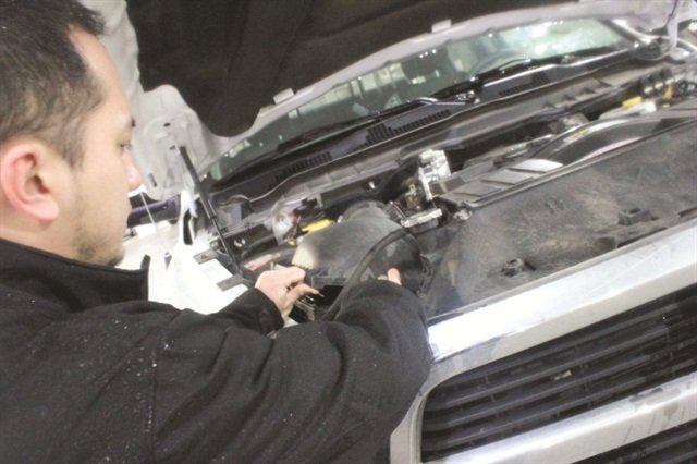 Jarantilla recommends changing the O2 sensors about every 80,000 miles.