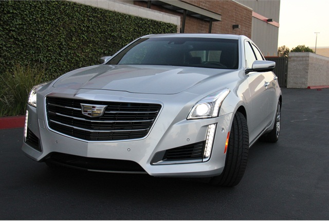 2016 Cadillac Cts V Sport Premium Driving Notes Automotive Fleet