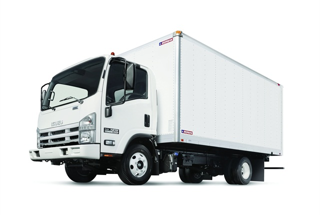 The NPR ECO-MAX offers a highly fuel-efficient diesel engine in a 12,000-lb. GVW truck.