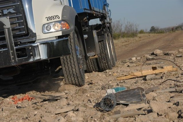 The risk of casing damage is as great as a puncture in some off-road situations. Destroy the casing and you lose the tire for retreading.