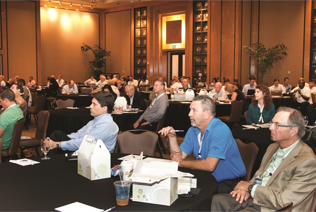 Attendees at a seminar at last year's Auto Rental Summit. Photo by Joseph Cancellare.