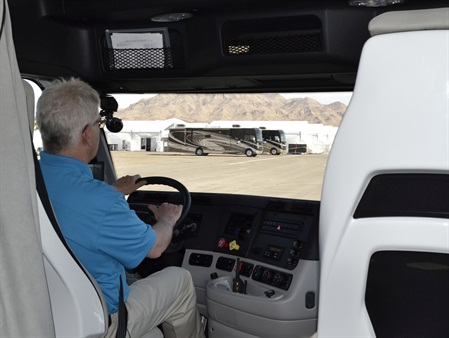 HDT Equipment Editor Jim Park was able to get behind the wheel of the SuperTruck at a recent press event in Las Vegas. A video of the experience is available at Truckinginfo.com.