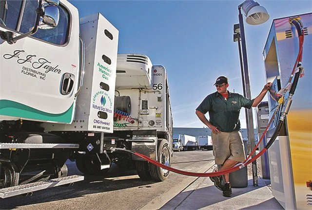 J.J. Taylor Companies will have a total of 80 CNG-powered units, or 48% of its Florida fleet, by January 2015. The plans are to convert 100% of its Florida fleet by 2017.