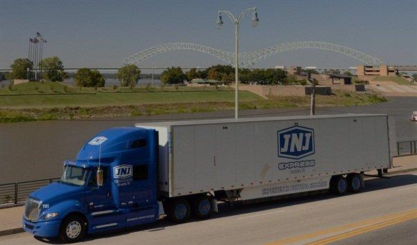 "JNJ Express is currently testing tire inflation devices on tractors and an ""active"" aerodynamic system on trailers with doors that do not accommodate TrailerTails."