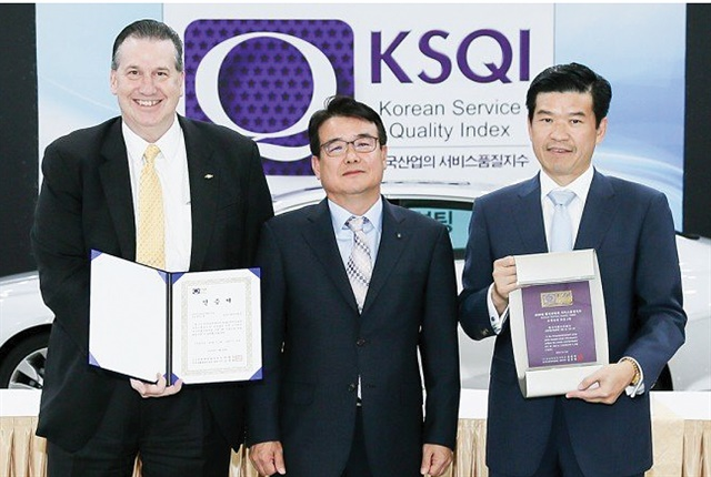 One factor stimulating GM Korea's sale growth has been its growing reputation of service quality among Korean consumers. For example, Chevrolet has been named No. 1 on the Korean service quality index for sales service for four consecutive years. The Korean Service Quality Index (KSQI) study surveys 26 industries, evaluating 111 different companies.