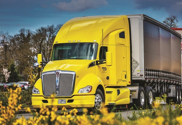 Kenworth's T680 is available with the proprietary Paccar Automated Transmission as an option for a fully integrated, all-Paccar powertrain.