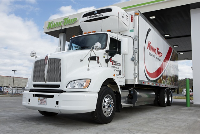 Kwik Trip is converting its 140-truck distribution fleet, Convenience Transportation LLC, to natural gas.
