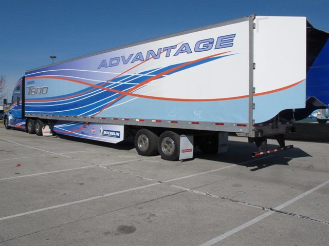 The Utility side skirts reduce the amount of wind that gets under the trailer, causing drag, and the TrailerTail reduces drag at the trailer's rear.