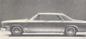 Chrysler line has an all-new look for 1963.