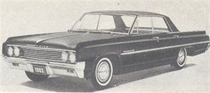 Oldsmobile offers six models in Dynamic 88 series.