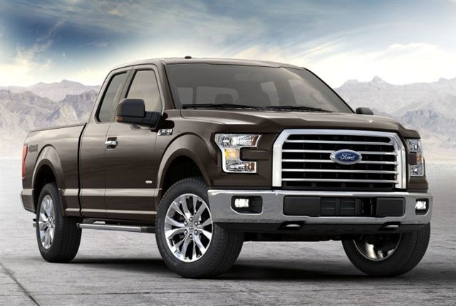 Ford has announced that the F-150will be electrified by 2020. Pictured is a gasoline powered 2017 F-150 XLT courtesy of Ford.