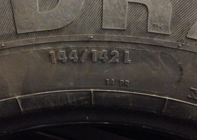 European ISO sidewall markings can be found on some North American truck tires, but they are not required.