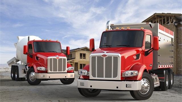 New Model 567 vocational trucks from Peterbilt.