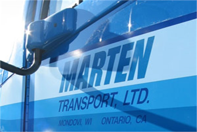 Marten Transport's 2017 net income nearly tripled from the previous year. Photo: Marten Transport