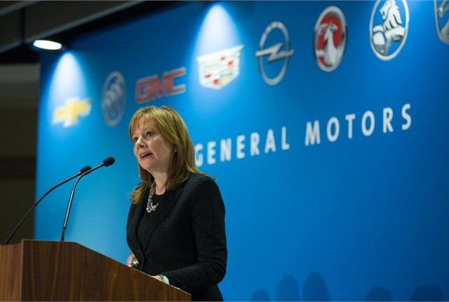 "GM CEO Mary Barra, shown here at the company's annual shareholders meeting, has vowed to bring ""greater rigor and a sense of discipline to our analyses and our decision making"" on recalls. Photo courtesy of GM."