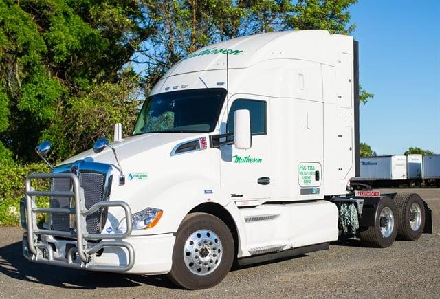 Matheson Trucking is growing its natural-gas-powered fleet.