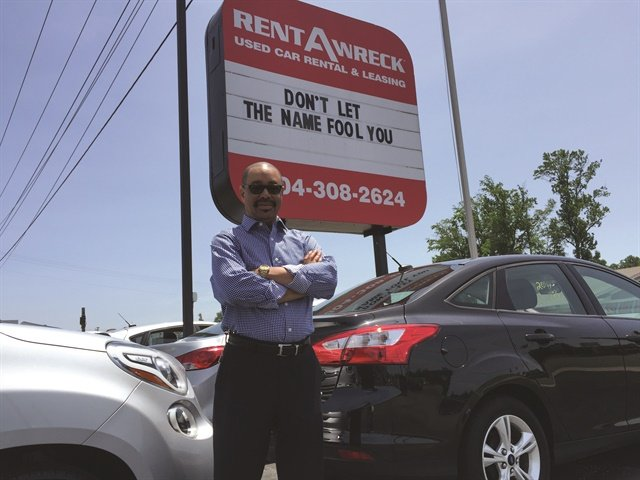 Matthew Allen, a Rent-A-Wreck franchisee in Richmond, Va., started with seven cars in 2012 and is up to 86 today serving a local market mix of weekenders, breakdown replacements, and long-term renters in need of a set of wheels.