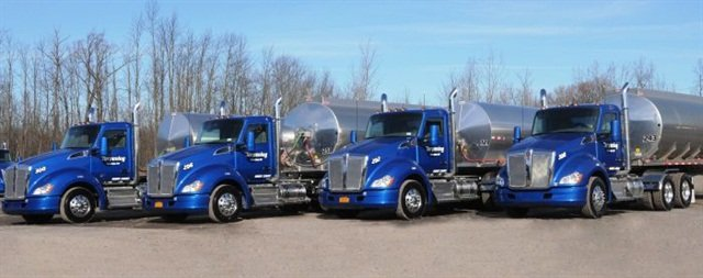 A fleet of shiny new Kenworths and Western Stars impresses customers and drivers alike. Photo: Kenworth