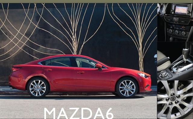 The 2014 Mazda6.