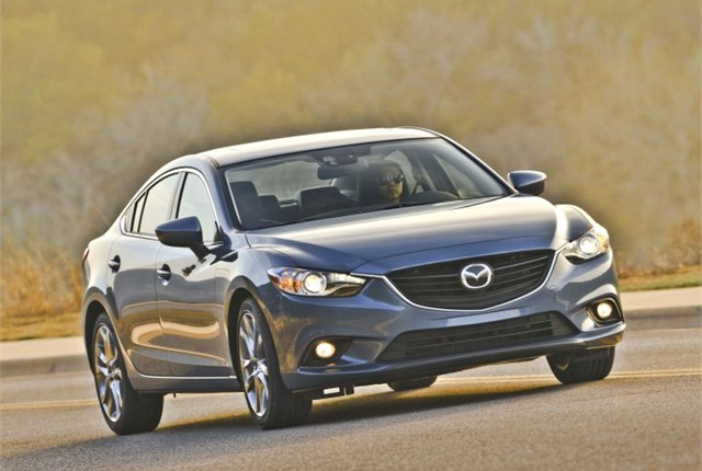 Photo of Mazda6 GT courtesy of Mazda.