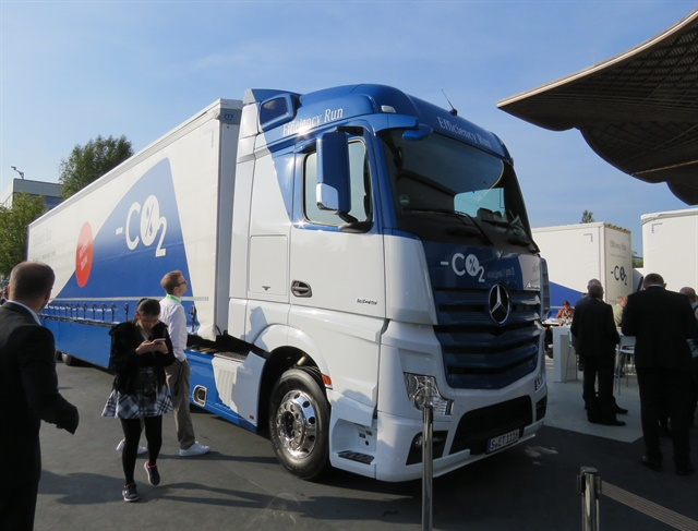 New European tractor-trailer setup promises real-world fuel savings of up to 20%. Photo: David Cullen