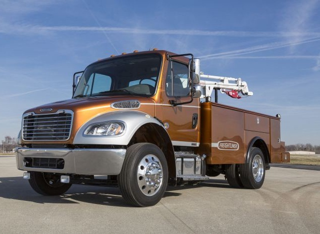 When designing models like the M2, Freightliner keeps industry trends in mind, such as driver recruitment.