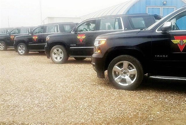 One large fleet customer in Iraq is the Ministry of Interior (MOI), which has acquired the Chevrolet Tahoe to meet its fleet applications. Photo: GM.