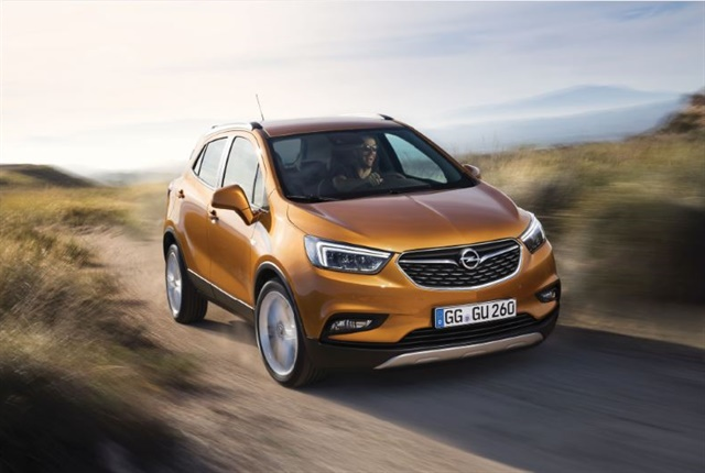 Photo of the Mokka X courtesy of Opel.