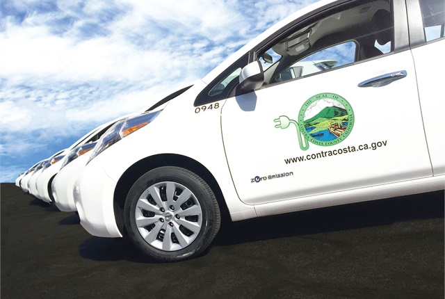Contra Costa County, Calif., offers a variety of gasoline, electrified, and natural gas vehicles.Photo courtesy of Contra Costa County.