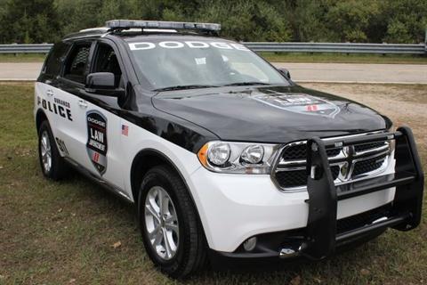 Photo of pursuit Dodge Durango by Paul Clinton.