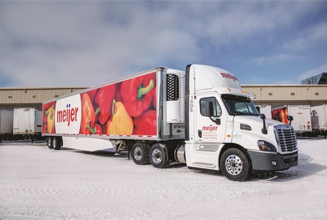 Meijer finished converting its 170-truck fleet of regional daycabs to the 2010 engines last fall.