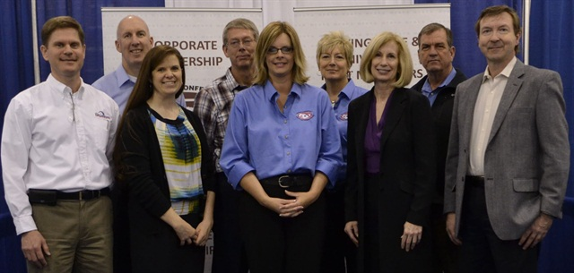 Pictured is the NCSFA executive committee at the 2013 NAFA I&E (l-r): Matt Wade, Sam Lee, Amanda Wilson, Stan Perkins, Cindy Dixon, Teresa Davis, Barb Bonansinga, Chris Hoffman, and Robert Ellingsworth.