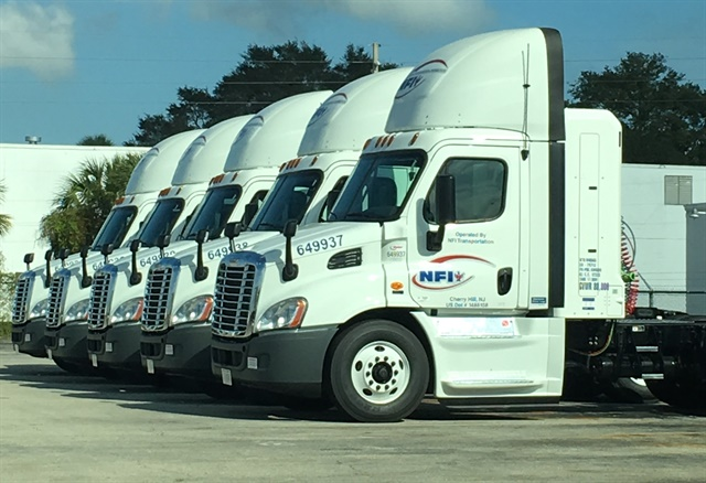 NFI has reduced the tractor-trailer gap, is buying automated transmissions and CNG engines, and employs energy-reduction equipment in its warehouses.
