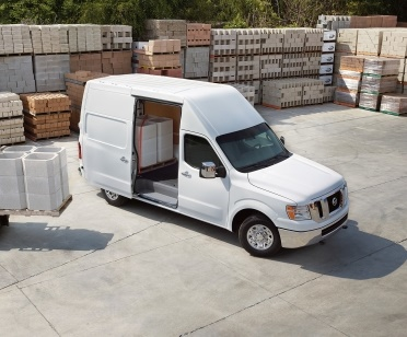 The Nissan NV Cargo Van is offered in three models, two roof heights, and three trim levels for a variety of configurations. (Photo: Nissan Motor Co.)